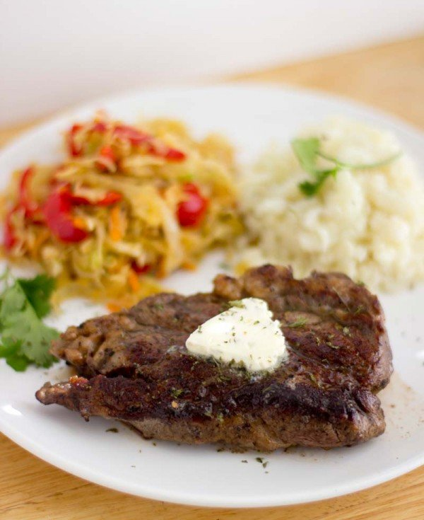 restaurant style chuck eye steak | This American Plate