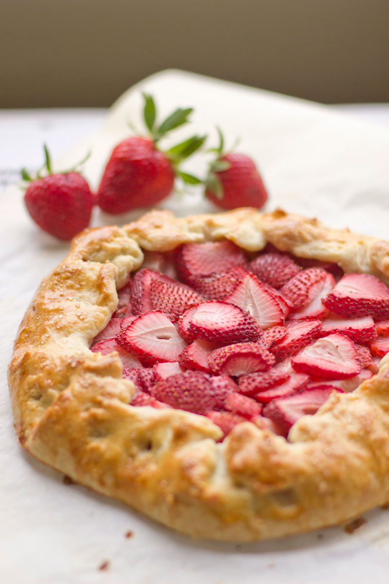Strawberry Galette | This American Plate