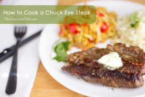 How to Cook a Restaurant-Style Chuck Eye Steak