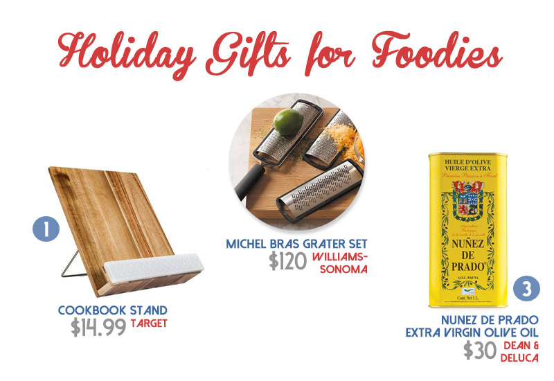 7 Holiday Gifts for Foodies